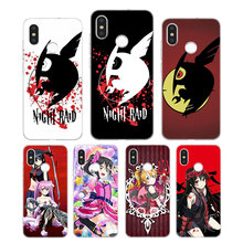 Silicone Phone Case Akame Ga Kill cartoon Printing for Xiaomi Mi 6 8 9 SE A1 5X A2 6X Mix 3 Play F1 Pro Lite Cover