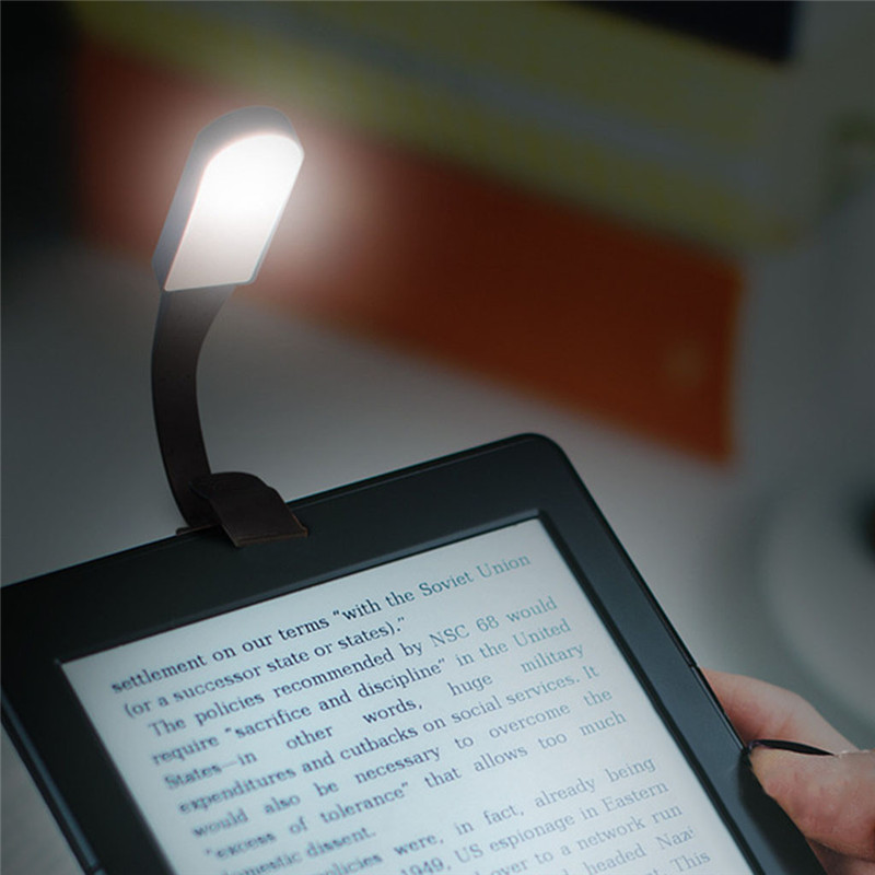 USB Aufladbare Touch Sensing LED Buch Licht Flexible Clip Auf Buch Licht Nacht Lesen Lampe projektor led wand lampe