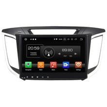 "2 Din Android 8.0 octa Core 10.1 ""4 GB RAM 32 GB ROM coche Radios 12 V audio Bluetooth estéreo para Hyundai ix25 2014-2015"
