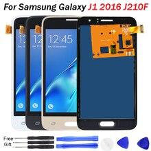 j120f lcd For Samsung Galaxy J1 2016 LCD Display J120 J120F J120H J120M Touch Screen Digitizer can adjust brightness