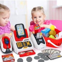 Детский подарок супермаркет Касса забавные дети ролевые игры играть в Обучение Обучающие кассовые игрушки имитация модели