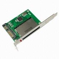 50pcs Lots CF Compact Flash Merory Card To 2 5 SATA II Converter Adapter PC PCI