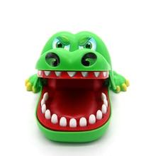 2017 hot crocodile jokes mouth dentist bite finger game joke fun funny crocodile toy antistress gift kids child family prank toy Creative Crocodile Mouth Dentist Bite Finger Game Funny Toy Kids Children Gift