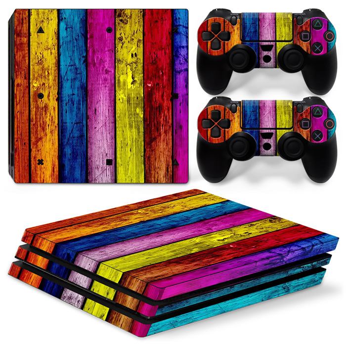 free drop shipping 2017 Alibaba hot selling custom games decal sticker for PS4 Pro#TN-P4Pro-0728