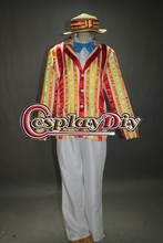 Cosplaydiy Free Shipping Customized Bert Jacket Cosplay Costume from Mary Poppins Movie Cosplay Costume