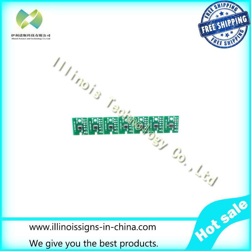 One-time Chip for Mimaki LF140-0728 UV Cartridge 7 colors CMYKLCLMWh printer parts