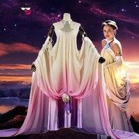 2017 Star Wars Padme Amidala cosplay costume dress custom