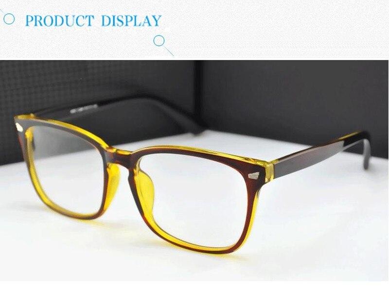 Novos Óculos da marca quadro Do Olho Do Vintage óculos Para As Mulheres  Homens Frame Ótico Prescrição Oculos de Grau feminino atacado fe5e04c906