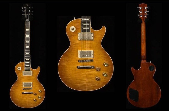 Custom Collectors LP  standard customised model   Melvyn Franks 1959 electric guitar ABR-1 bridge,bone nut!