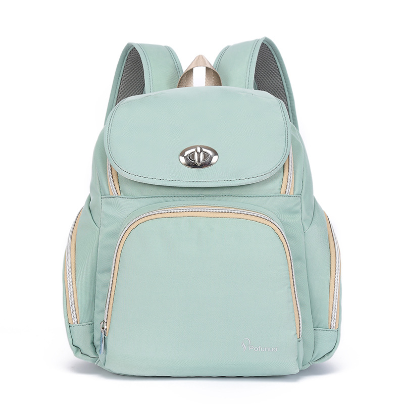 Waterproof Baby Diaper Bag Large Baby Nappy Bag Embroid Backpack Maternity Bags Baby Care Changing Bag for Stroller baby dining lunch feeding booster seat maternity baby diaper nappy bag multifunction fashion hobos messenger bags for baby care