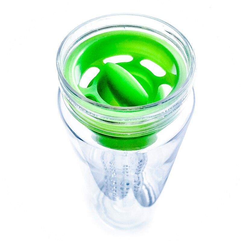 800ml Fruit Infusing Watter Bottle Lemon Juice Maker Fruit Infuser bike travel school BPA Sports Health
