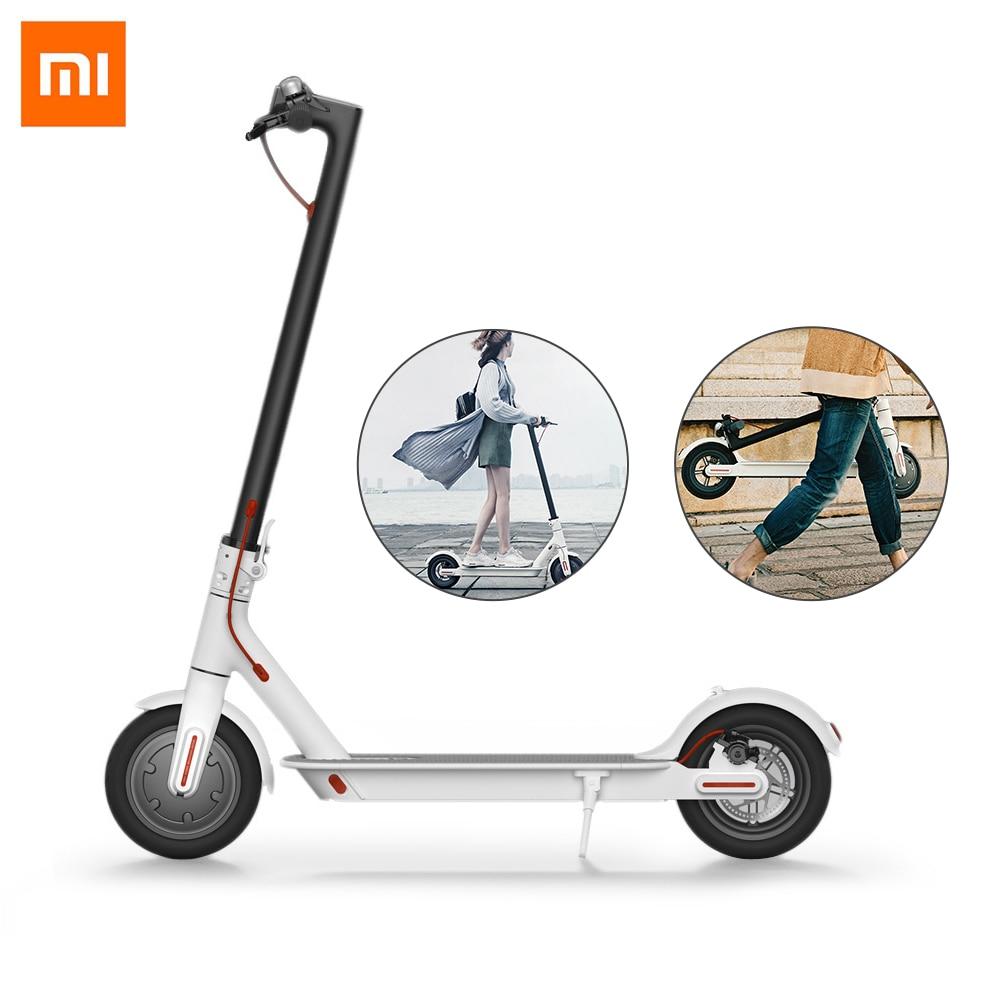 Xiao mi mi M365 Klapp Elektrische Roller Ultraleicht Skateboard mit E-ABS Kinetische Energie Recovery System Intelligente BMS