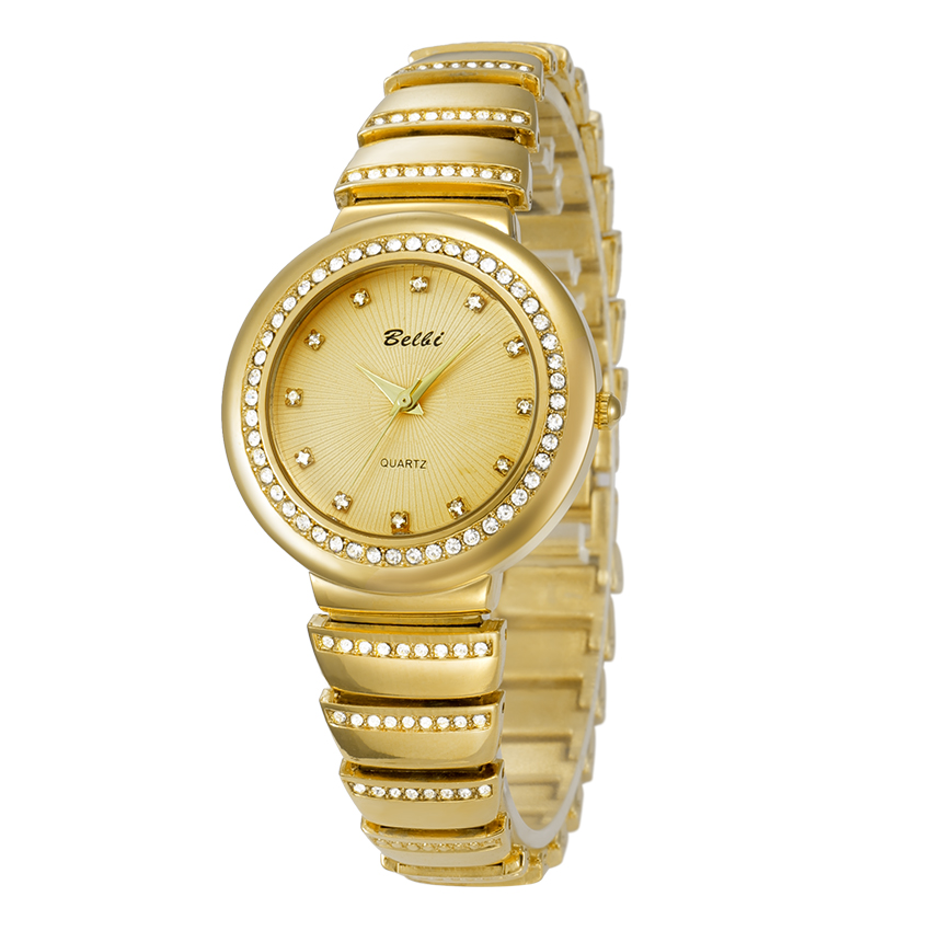 Luxury Brand Fashion Gold Women Quartz Wristwatch Women Bracelet Watch lock Ladies Dress Watches Waterproof  Crelogio feminino bs brand women luxury fashion rhinestone watches lady shining dress watch square bracelet wristwatch ladies diamond quartz watch