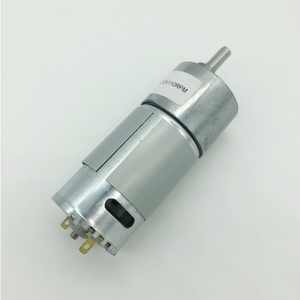 Wholesale JGB37-550 6v 12v Gear Motor No Load Reverse 12v Dc Gear Motor 6v Electric Dc Motor D Shaft For Common Use запчасти для детского транспорта motor 6v 12v rs390