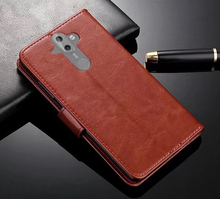 Leather Case for Nokia 8 Sirocco Premium Wallet Flip Protective
