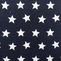 1 5CM Width Stars Printing Canvas For Bag Raw Material Fabric