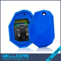 2pcs Lot NRF51822 Ibeacon Module BLE 4 0 Bluetooth Beacon Eddystone Blue Silicone Waterproof