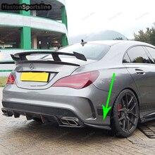MIX Style Fiberglass Primer Rear Bumper Splitter For Mercedes Benz CLA W117 CLA250 CLA260 CLA45 AMG 2013~2016