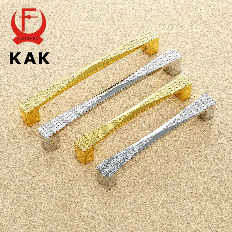 KAK Zinc Alloy Handles Imitation Diamond Fashion Handles Drawer Wardrobe Knobs Cabinet Handles Pulls Furniture Hardware