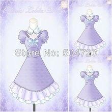 1860s Lila Civil War Southern Belle Gown Victorian Lolita Dresses scarlett Dress US6-26 V-274