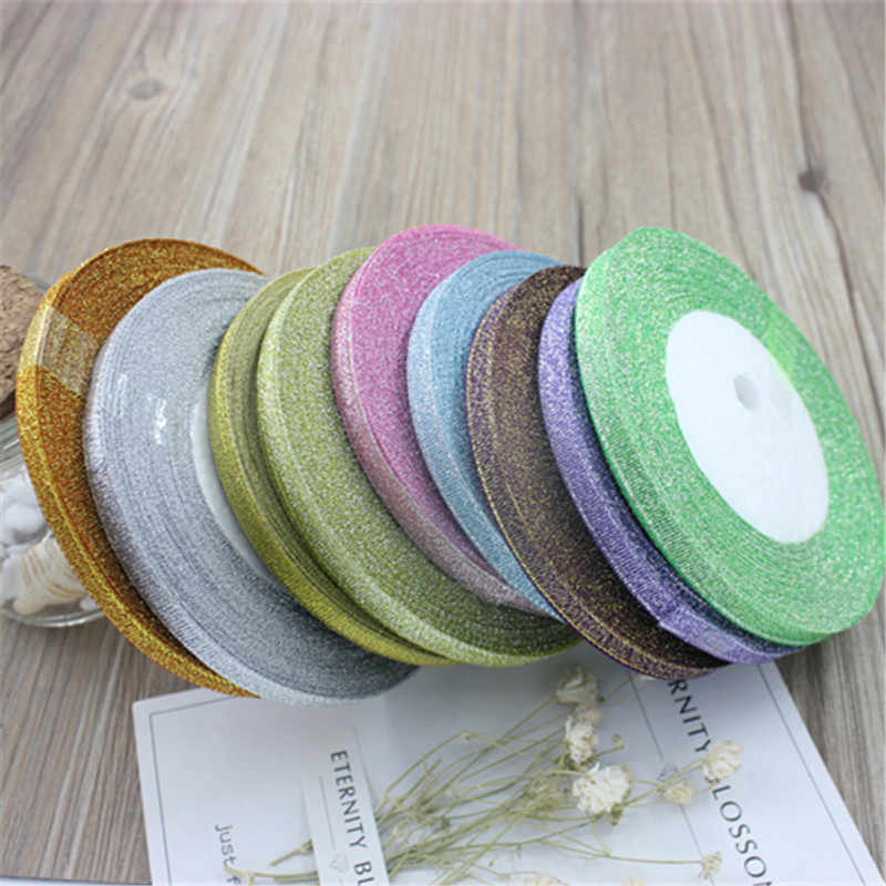 6mm wide 25 meters long home decoration party wedding silk satin ribbon gift wrapping material diy new year christmas gift