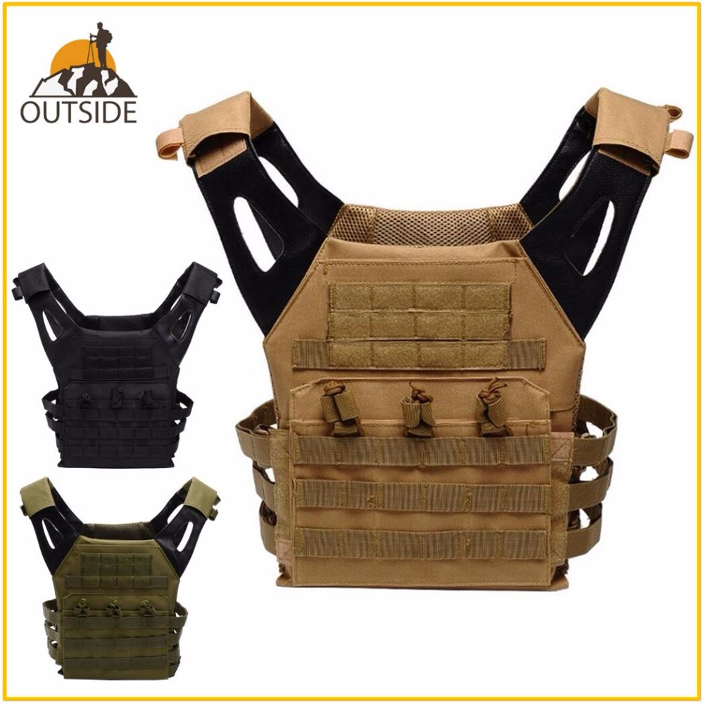 High Quality JPC 1000D Tactical Military Molle Plate Carrier JPC Vest Airsoft Paintball Hunting Police Outdoor Vest SWAT VEST wosport military hunting vest enhanced tactical 500dnylon molle jpc shooting game body armor rig plate carrier airsoft paintball