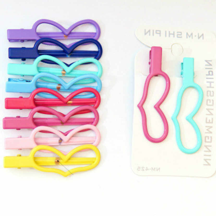 Mixed Color Long Eared Rabbit Hair Clip Hairband Comb Bobby Pin Barrette Hairpin Headdress Accessories Beauty Styling Tools
