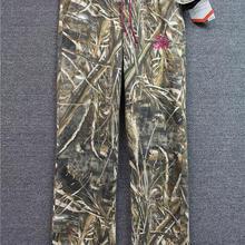 Новые женские камуфляжные охотничьи брюки для спорта на открытом воздухе прямые брюки эластичные флисовые брюки плюс размер L-2XL