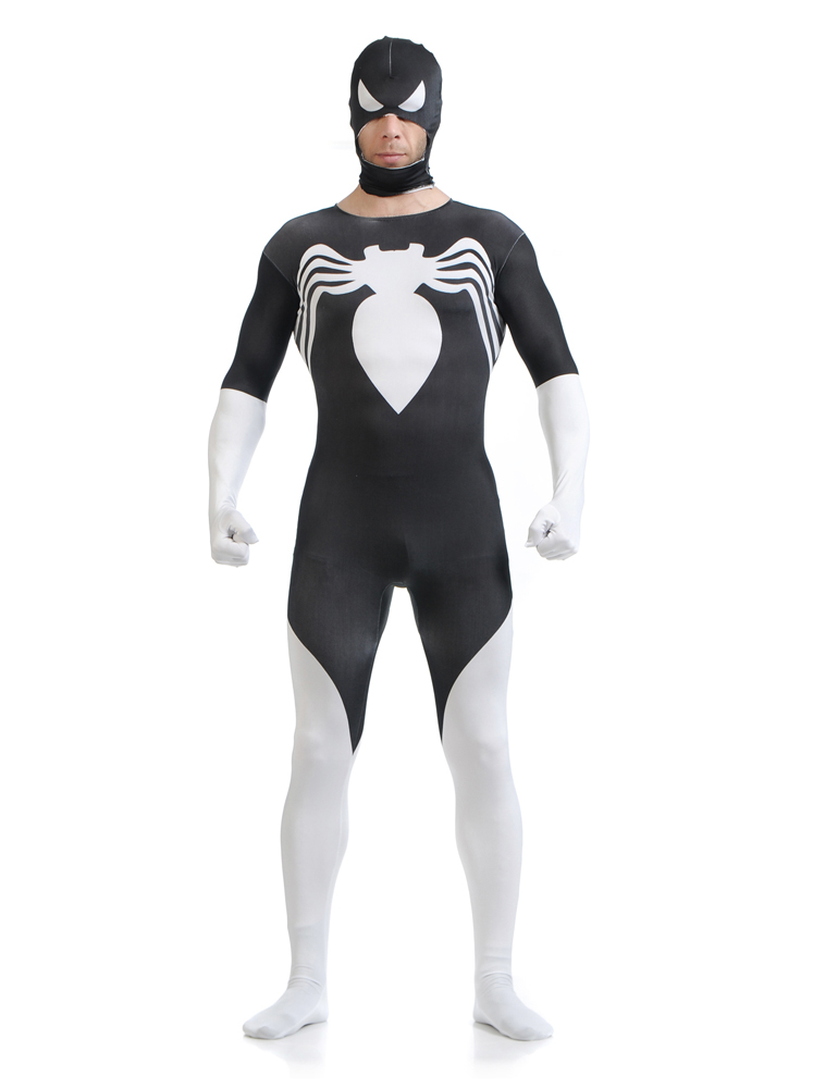 Costume spiderman de haute qualité super-héros halloween cosplay spider-man costumes serrés spandex zentai costume