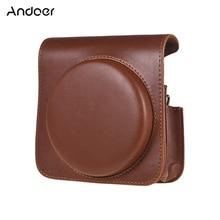 Защитный чехол для камеры Andoer из искусственной кожи, сумка для Fujifilm Instax Square SQ6, сумка для камеры с регулируемым ремешком