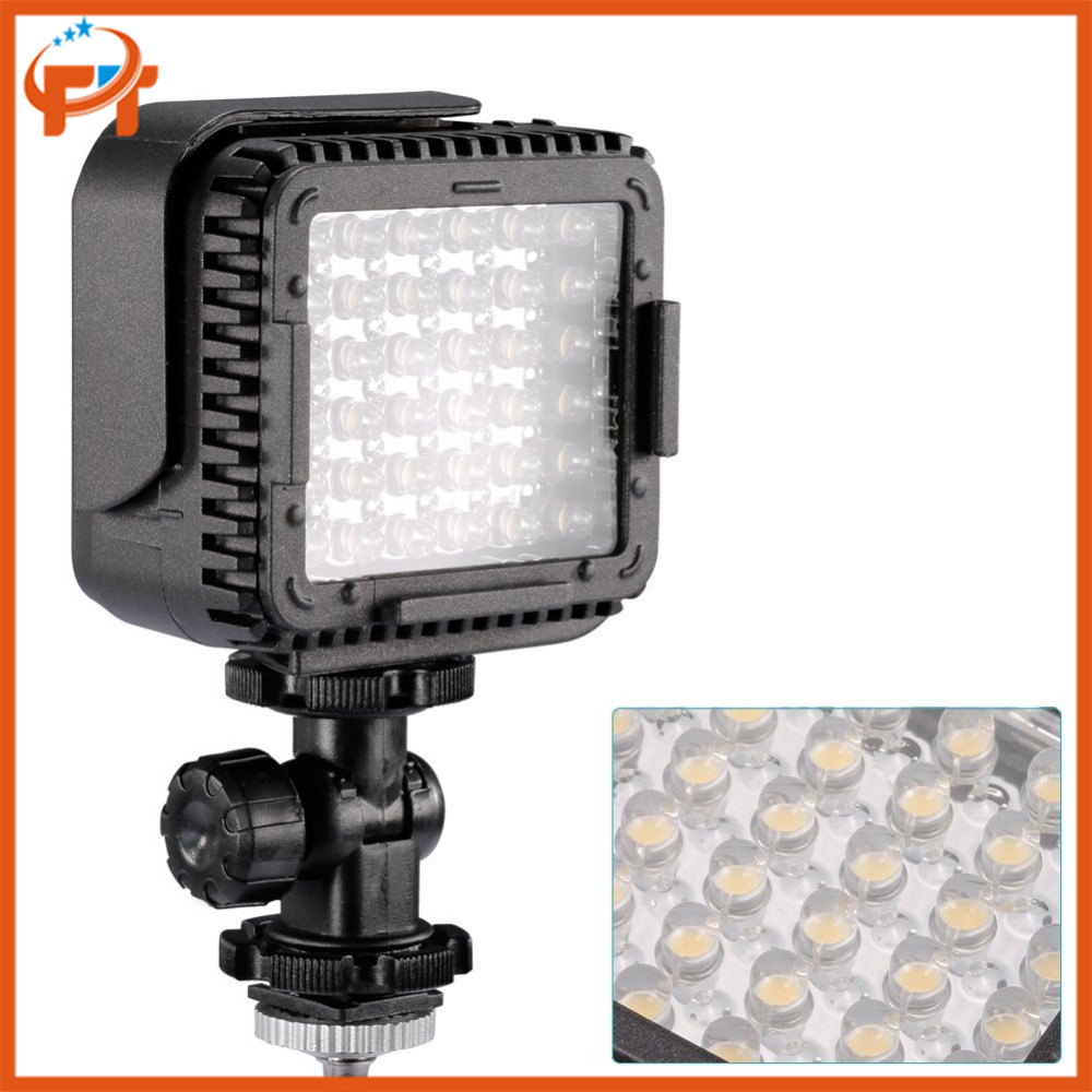 Cn-lux360 ultra-luminoso 36 dimmable led camera/luce video con filtro per canon nikon video camera camcorder 5600 k/3200 k