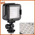 Cn-lux360 ultra-brillante 36 led regulable cámara/luz de vídeo con filtros para canon nikon cámara de vídeo videocámara 5600 k/3200 k