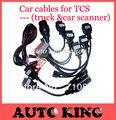 2017 Бесплатная доставка 8 шт./лот автомобиля tcs cdp кабели работает все модели pro/multidiag pro +/wo-W cdp/vd ds vci cdp с psa-30pin