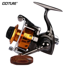 Goture Ice Fishing Reel 4.3:1 Max Drag 4.5kg Full Steel Mini Spinning Reel Extremely Mild for Winter Fishing Wheel Coil moulinet