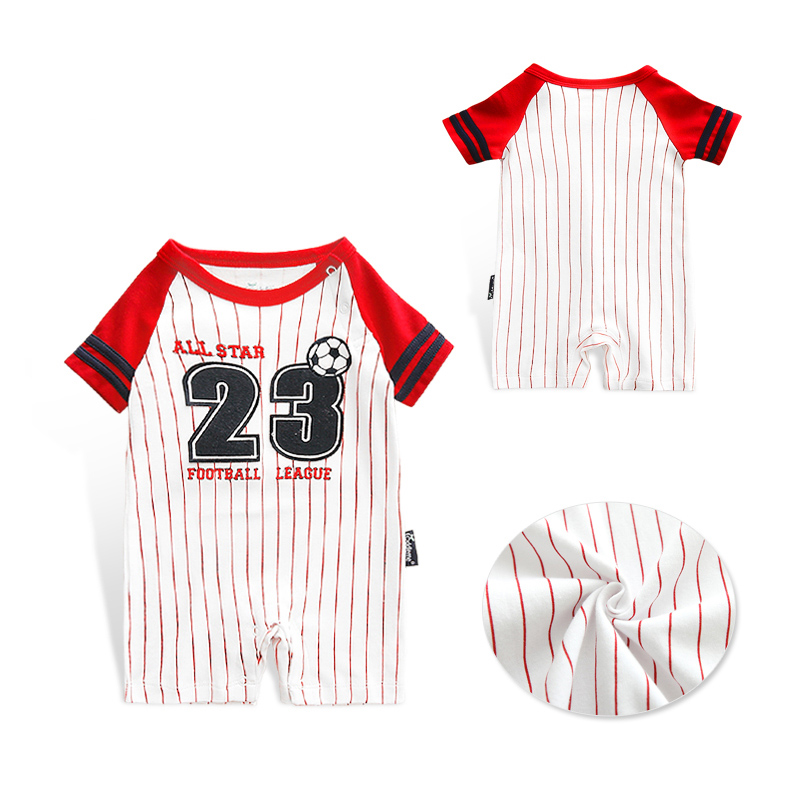 Honkbal Outfits voor kinderen trainingspak Jumpsuit Baby Romper - Babykleding - Foto 4