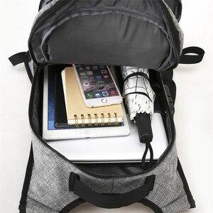 Image 3 - Stilvolle USB Lade Anti diebstahl rucksack Frauen Anti diebstahl rucksack für jugendliche Licht männlichen Laptop rucksack 15,6 zoll Männer