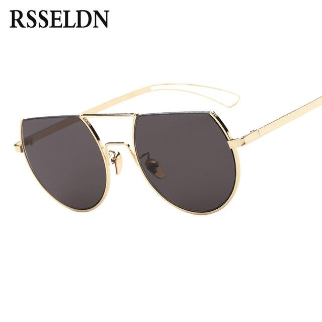 5cc57f67ff2b8f RSSELDN Mode Ronde lunettes de Soleil Femmes Marque De Luxe Lunettes de  Soleil Pour Femmes Femelle