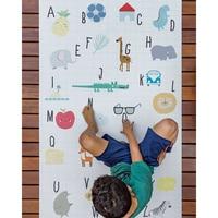 150X100CM Baby Alphabet Mat Baby Play Crawling Mats Rubber Mat Floor Rugs Cartoon Animal Kids Room Rectangle Carpet for Play