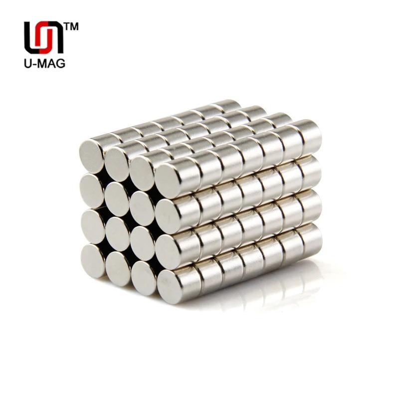 afad822 Cylinder Round Disc Magnet Permanent Rare-Earth Neodymium Magnet N50