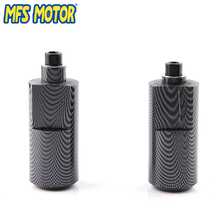 Freeshipping motorcycle parts No Cut Frame Slider Crash For Yamaha 2004 2005 2006 YZF R1 YZFR1 YZF-R1 Carbon motorcycle accessories rear fender carbon fiber guard fairing abs for yamaha yzf r1 2004 2005 2006 yzfr1 04 05 06