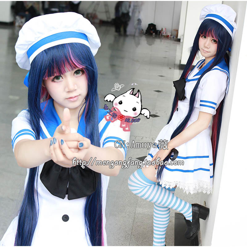 0d34db1379b Panty   Stocking Casual Garterbelt stocking cosplay costume in any size  Collectibles