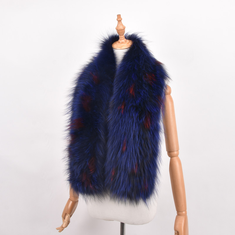 Real Fox Fur Winter Scarf Women Natural Fur scarves Soft Collar Shawl Wrap Winter Scarf Women new