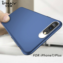 IPAKY Ultra Thin Hard PC For Iphone 7 Case 360 Full Protection Cover Coque Plus Luxury Matte