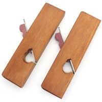 Mini rosewood mão plaina inferior afiado diy carpinteiro lidar com ferramentas para trabalhar madeira ferramenta de mão unilateral/único avião de madeira|Plainas manuais| |  -