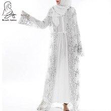 luxury high class sequins Dubai Muslim women abayas(no hijab no inside dress)