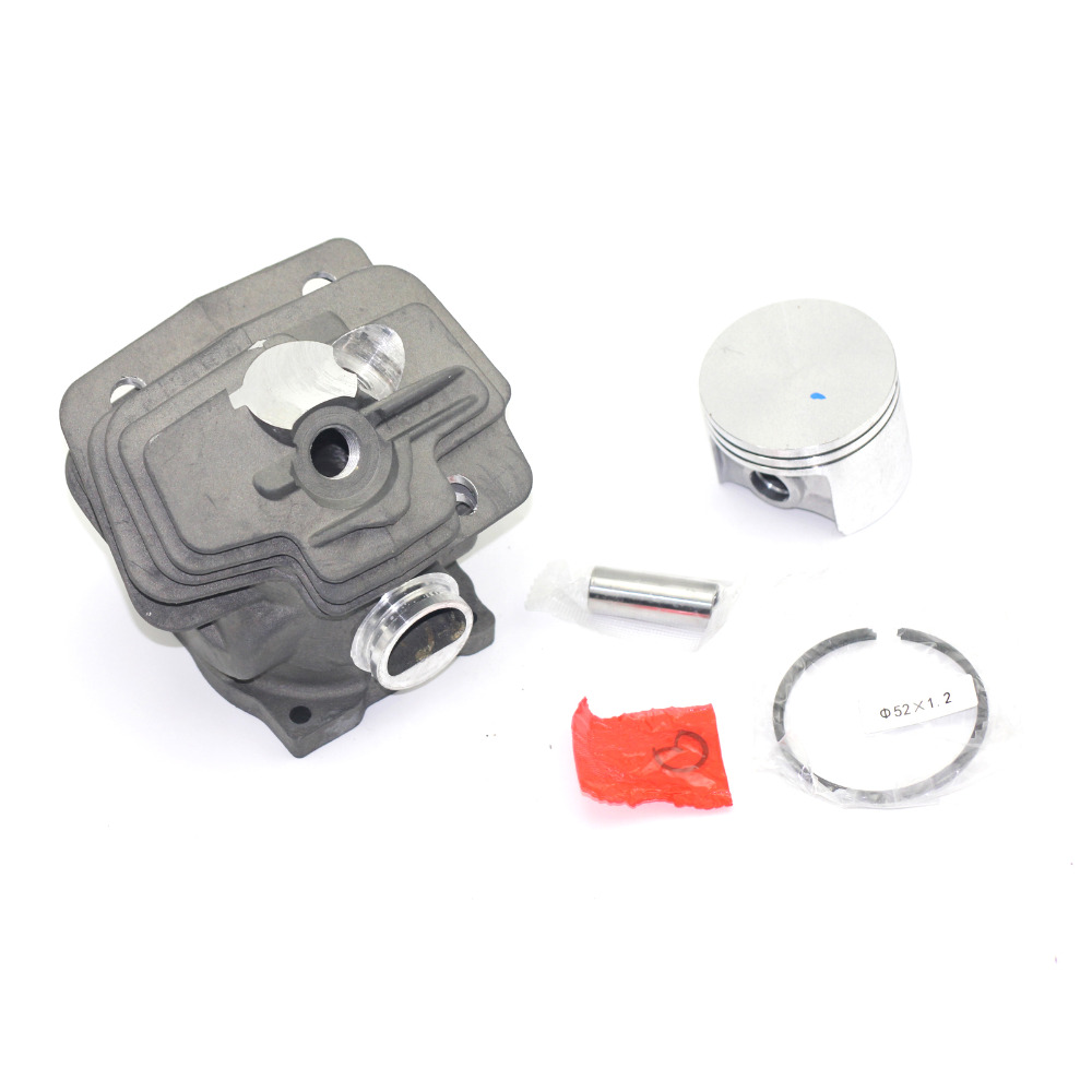 Cylinder Piston 52mm Kits For Stihl MS382 Chainsaw Engine Rebuild Pin Rings Clips Assembly Replacement Parts