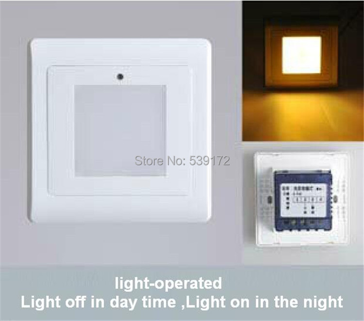 Doprava zdarma 4ks / lot 0.5w světlo reakce LED schodišťová lampa žebřík světlo / led stěnové světlo 3letá záruka 120lm SL-003