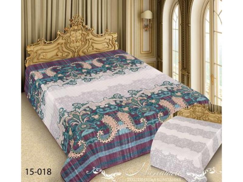 цена Покрывало двуспальное Marianna, Barokko, 180*220 см, разноцветный, с узором онлайн в 2017 году