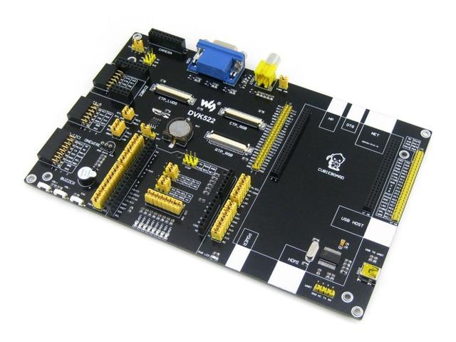 A10 Cubieboard Cubieboard2 A20 Placa de Desenvolvimento de Expansão DVK522 com vários componentes & interfaces também projetado para Arduino