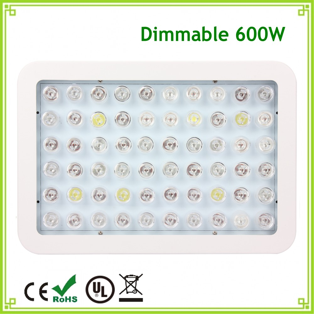 1pcs Dimmable 300W LED Grow Light Full Spectrum Aquarium Panel Light For Hydroponics Indoor Flowering Plants Growth Tent Box#25 led grow light lamp for plants agriculture aquarium garden horticulture and hydroponics grow bloom 120w 85 265v high power